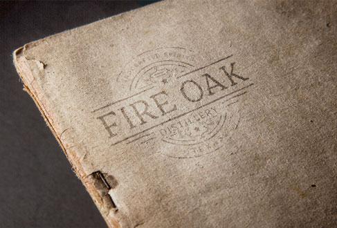 Fire Oak Logo on Paper